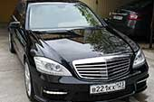 Mercedes Benz S-Class 221 Long - такси в Сочи